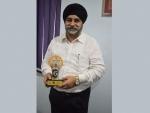 JIS Group MD Sardar Taranjit Singh receives Gurukul Awards in Life Time Achievement category