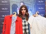 Kriti Sanon visits Kolkata malls for the promotion of her signature western-wear line Ms. Taken