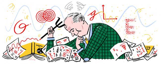Google doodles on German physicist Max Born's 135th birth anniversary