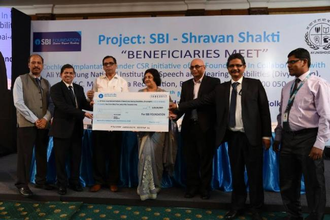 SBI Foundation to support 50 children with speech & hearing disabilities in West Bengal