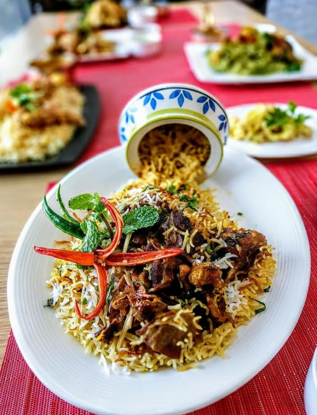 Kolkata indulge in a biriyani extravaganza at the the for Awadhi cuisine kolkata