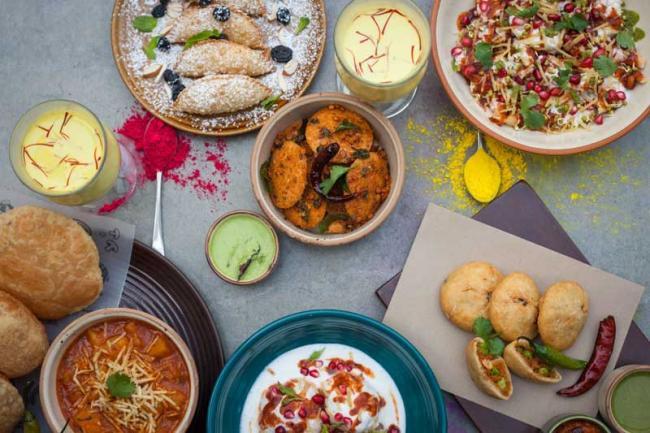 Holi special spread from gastropub Monkey Bar at four metros