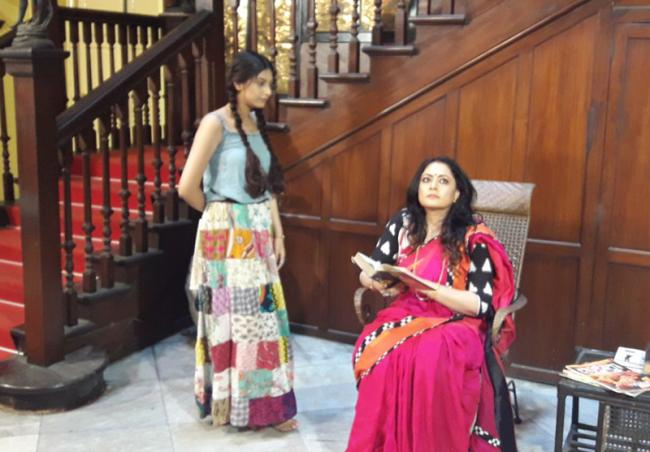 Agnimitra Paul features in television commercial shot by Power Publishers and Motions Pictures