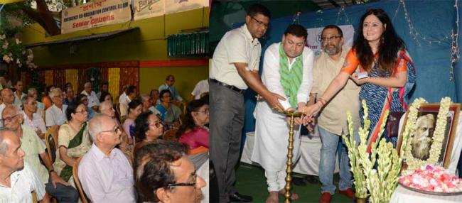 Pronam celebrates Rabindra Jayanti with senior citizens