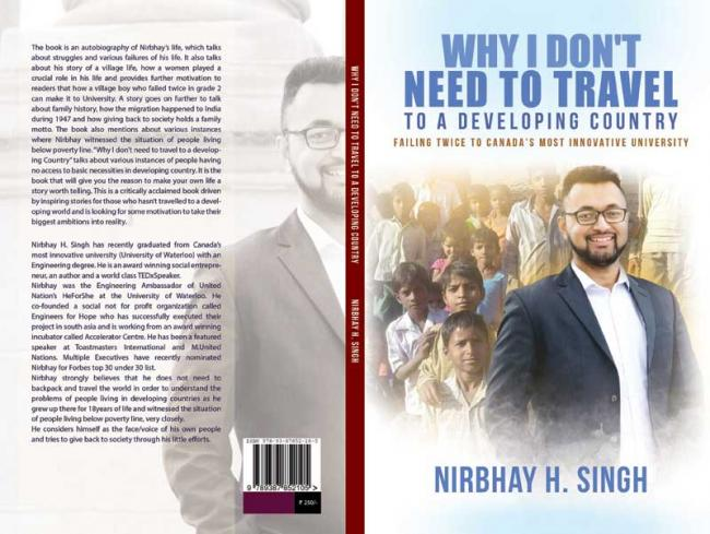 Author interview: Nirbhay Singh on his debut book 'Why I Do Not Need to Travel to a Developing Country'