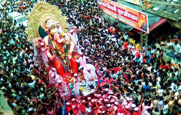 Ganesh Chaturthi: Devotees throng temples in Guwahati