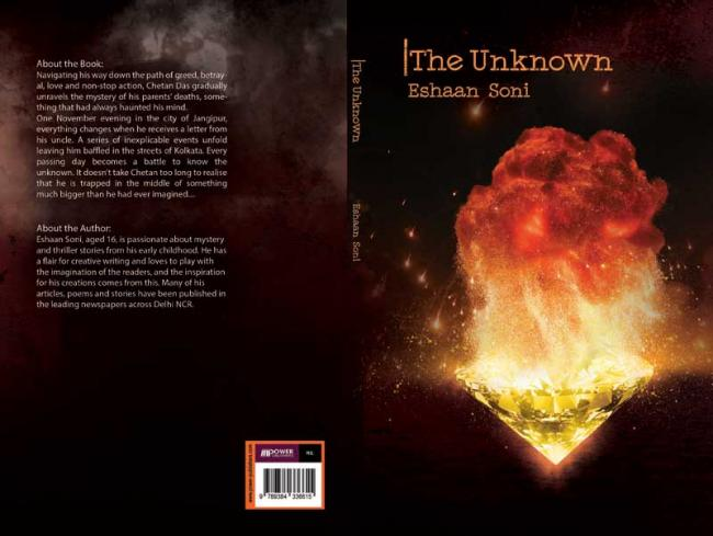 Author interview: Eshaan Soni talks about his book 'The Unknown'