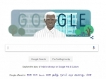 Google doodle on Govindappa Venkataswamy's birth centenary