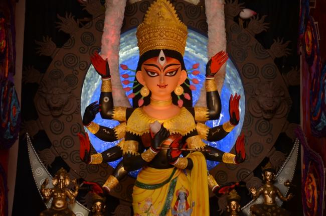 Durga Puja: Mood of festivity sets in Kolkata as Hindu devotees celebrate Maha Ashtami today