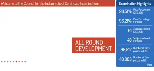 ICSE,ISC results declared today
