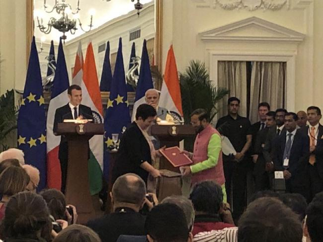 Indo-French Knowledge Summit ends successfully with a landmark agreement on mutual recognition of educational qualifications between the two countries