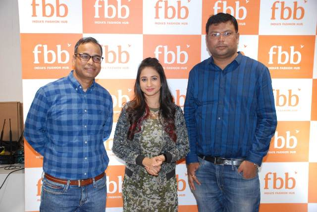 fbb's new store launched in Bangalore by popular actress Manvitha Harish