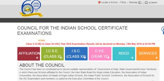 ICSE, ISC results to be announced on May 14