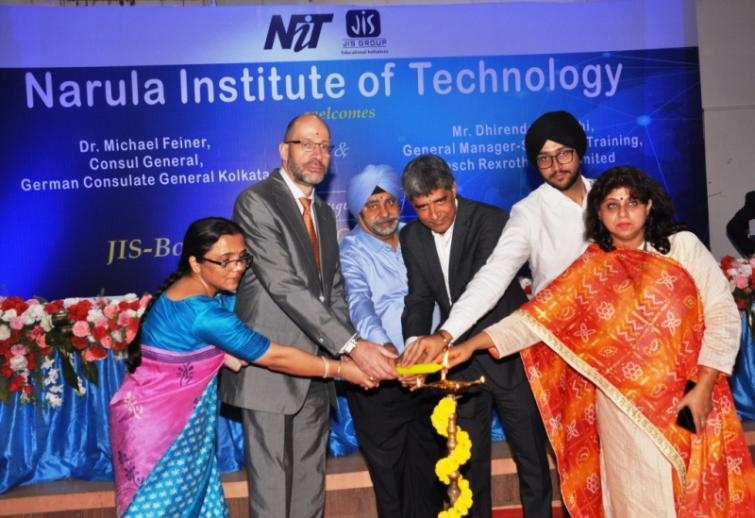 JIS-Bosch-Rexroth Centre of Excellence opens at Narula Institute of Technology