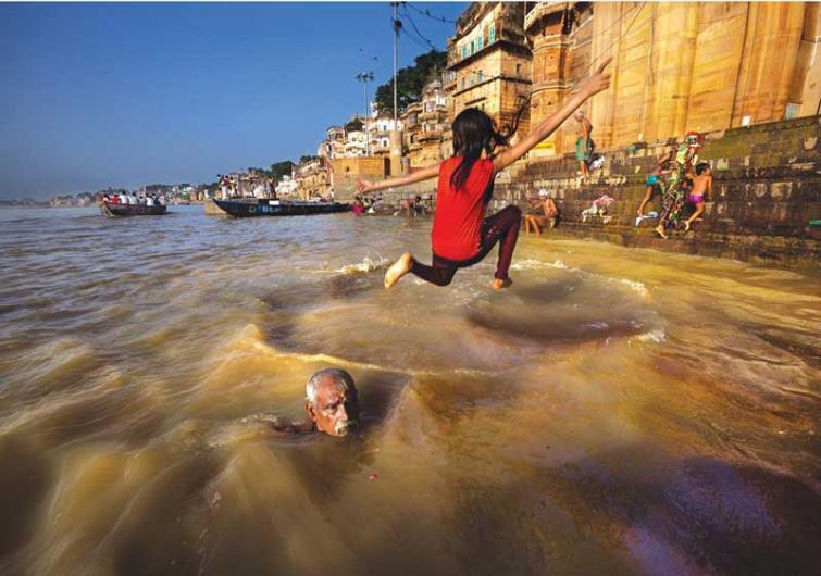 Varanasi: A centuries old ghat restored