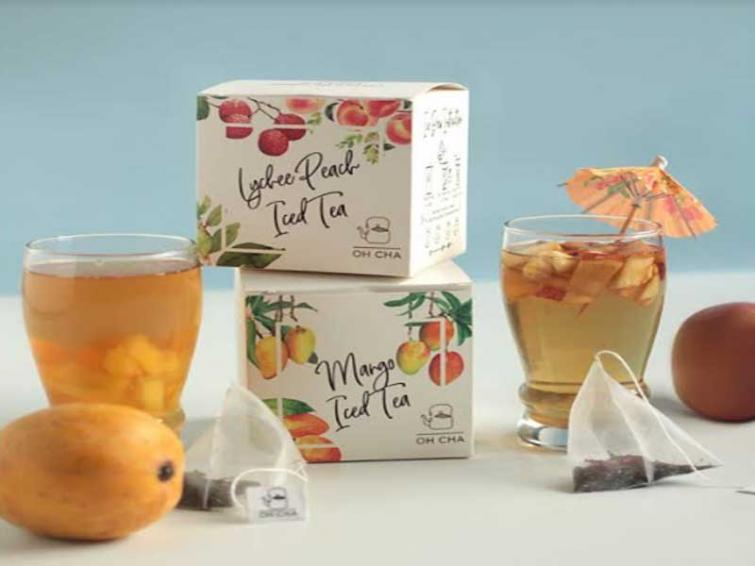 Beat the heat with Oh Cha's new range of fruity flavoured iced tea