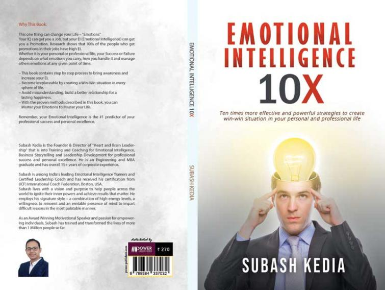 Author interview:  Subash Kedia says  'Emotional Intelligence 10X' is about creating a win-win situation