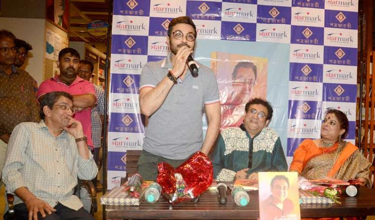 Actor-singer Arindam Ganguly adds one more feather to his cap with his short story anthology