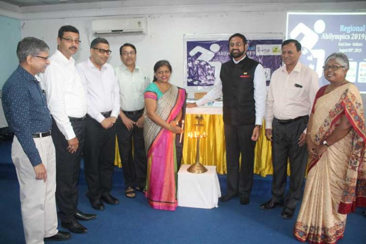 Top notch companies offer jobs to people with disabilities at the regional Abilympics in Kolkata