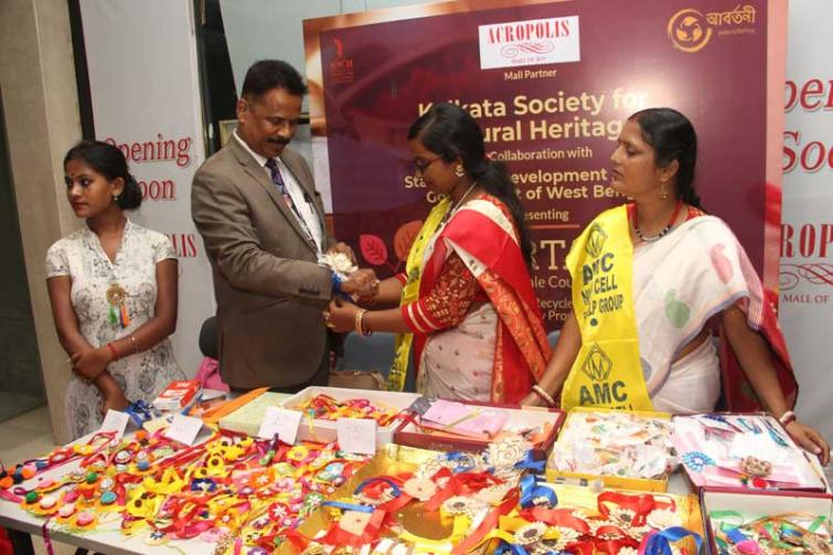 Kolkata-based Acropolis Mall holding exhibition of rakhis made from recycled products