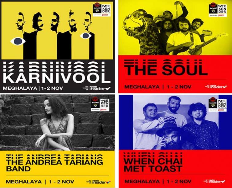 Karnivool, Intervals, Shubha Mudgal, among others to headline at Bacardi NH7 Weekender Meghalaya