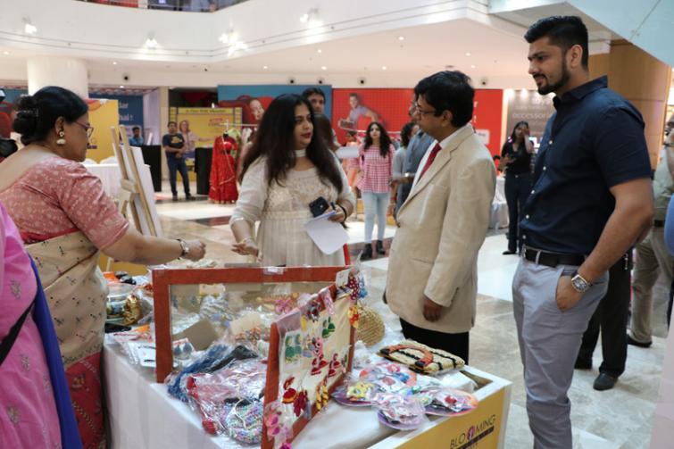 Kolkata's Acropolis Mall provides pre-Puja market exposure for budding women entrepreneurs