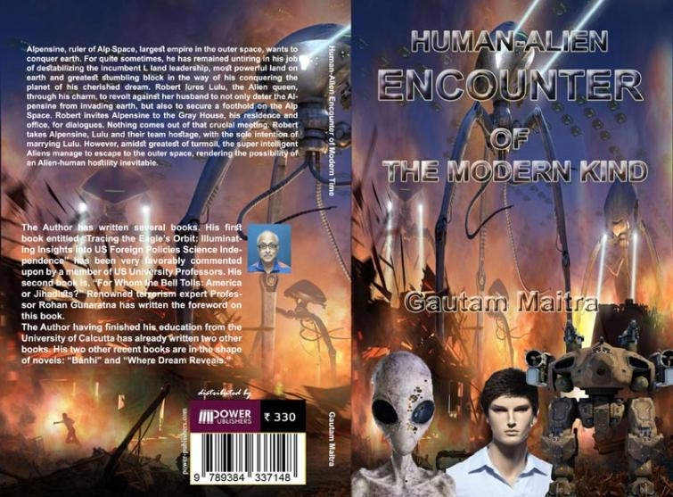Author interview: Gautam Maitra on his recently published book 'Human-Alien Encounter Of The Modern Kind'