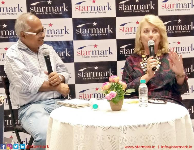 Starmark holds discussion between architect Anjan Mitra and author Joanne Taylor