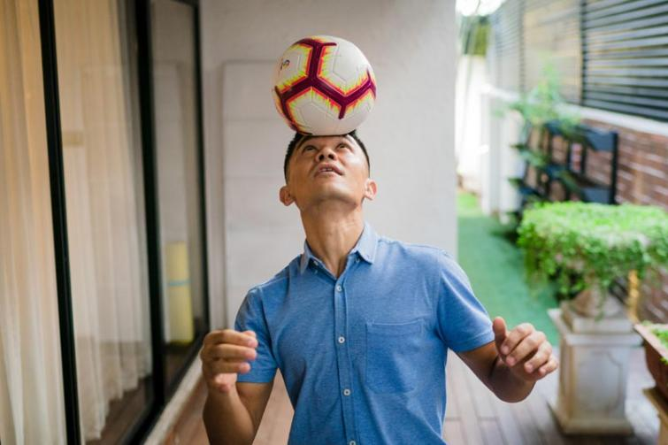 Sunil Chhetri's Bengaluru home is a testament to his sportsman's spirit, says Asian Paints Where The Heart Is episode