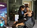 Sachin Tendulkar gets shaved by Barbershop girls, breaks shaving stereotypes