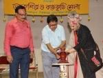 Kolkata: Lokshilpa O Karukriti Mela held at Jorasanko Thakurbari