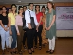 Expert on muslin urges young textile enthusiasts at JDBI to protect the rich Bengal legacy
