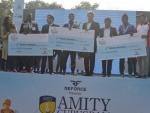 Over 20,000 runners participate at the Amity Gurugram Marathon