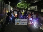 Cycle-with-lights ride organised to spread the message of Responsible Diwali