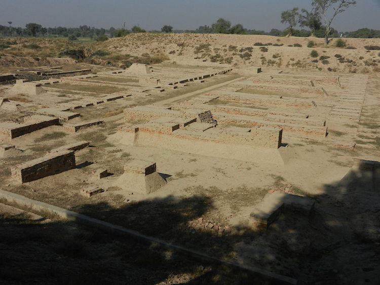 A view of Harappa