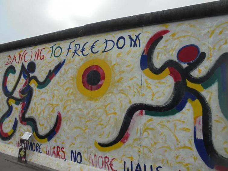 Dancing for Freedom by Chennai-born artist Jolly Kunjappu