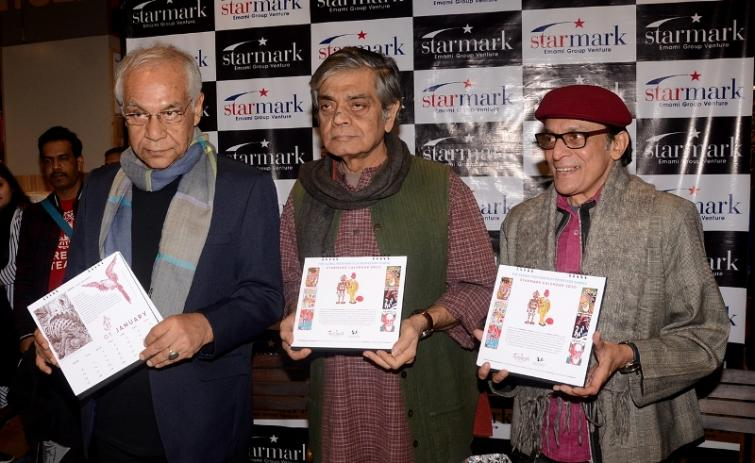 Sandip Ray unveils calendar on Prof. Shanku in Kolkata's Starmark, shares filming experience