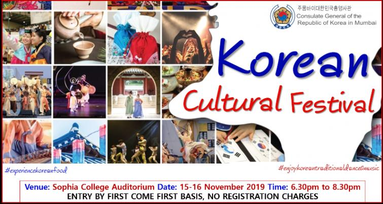 Korean Cultural Festival to enthrall Mumbaikars with their traditional culture and cuisine