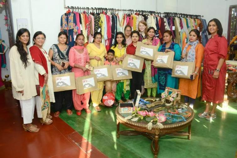 Special gifts from designer boutique Dil Se brightens the world of some underprivileged women