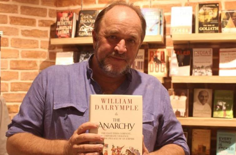 Starmark organises signing session of William Dalrymple's book The Anarchy- The Relentless Rise of the East India Company