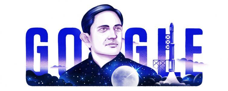 Google doodles on birth anniversary of Vikram Sarabhai