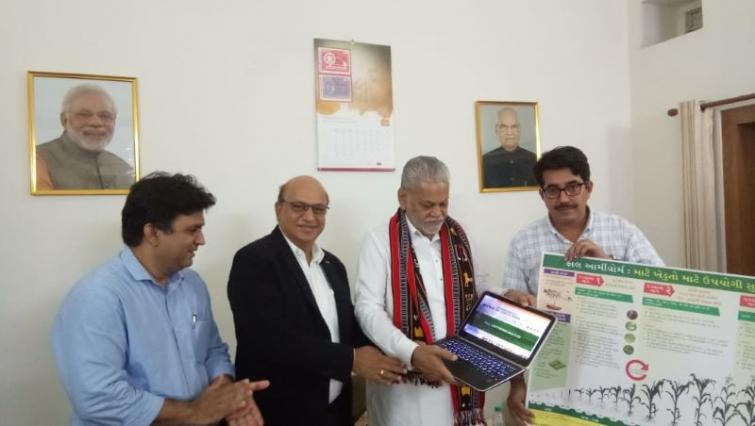 Agriculture & Farmers' Welfare Minister Rupala dedicates website on Fall Armyworm to help farmers fight the pest