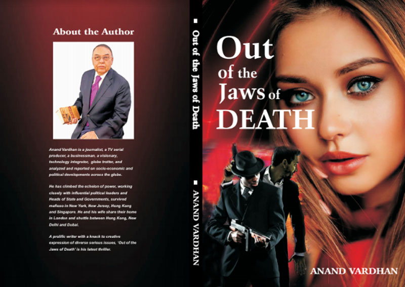 Author interview: Anand Vardhan on his book Out of the Jaws of Death