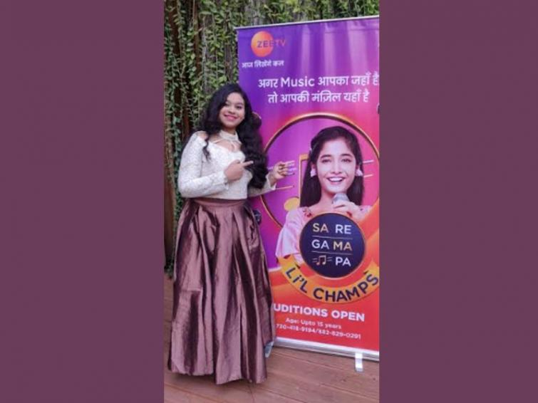 Young singers vie for a spot in the Sa Re Ga Ma Pa Li'l Champs contest