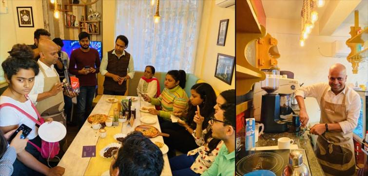 Lavazza India holds coffee training session for enthusiasts before Valentine's Day