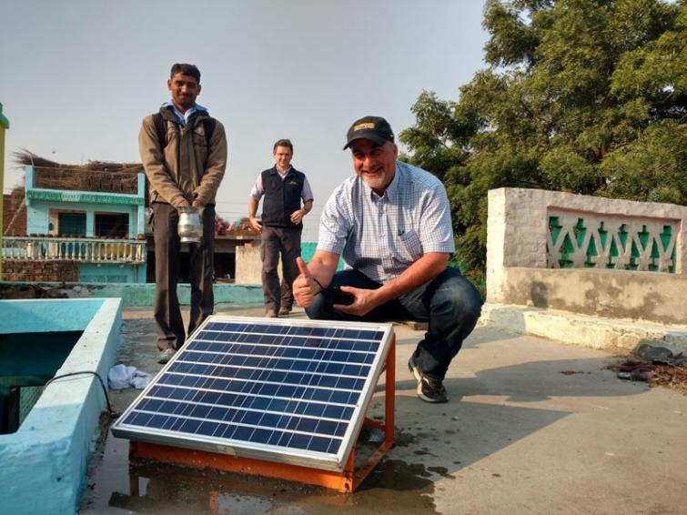 Going solar affordably