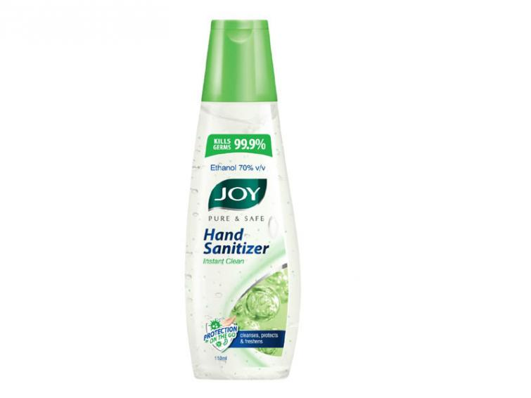 Personal care brand Joy of RSH Global begins manufacturing herbal hand sanitizers