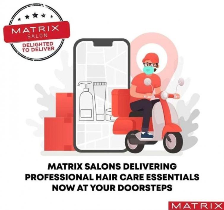 Matrix India digitally training hairdressers and salon technicians in safety and sanitization protocols