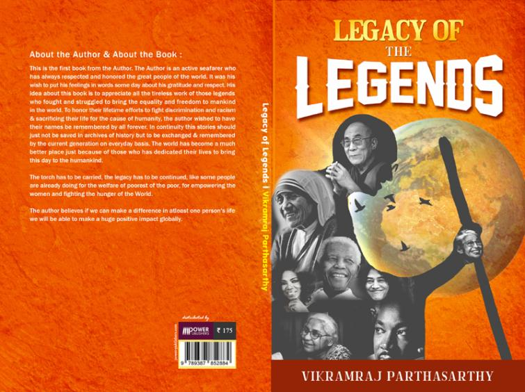 Author interview: Vikramraj Parthasarthy talks about his book Legacy of the Legends