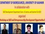 Skill development key to economic growth: says Vice-Chancellor of University of Kashmir Prof Talat Ahmad